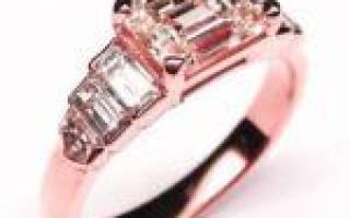 Состав, свойства и правила ухода за розовым золотом