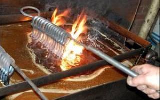 Как закалить сталь 40х