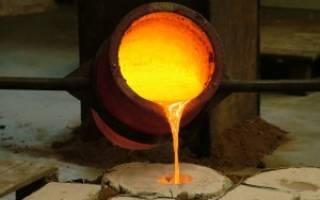 Какой температуре плавится металл
