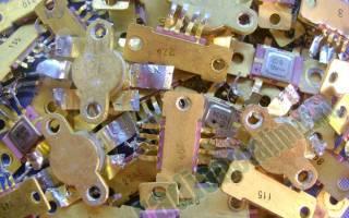 Как добыть золото из микросхем?