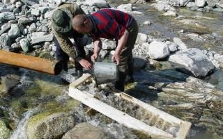 Где можно найти и как добывать золото из воды?