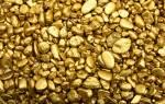Происхождение, разновидности и свойства золота