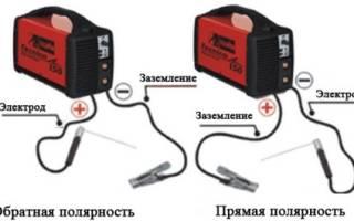 Что значит электроды обратной полярности