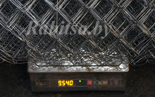 Сколько метров в рулоне сетка рабица