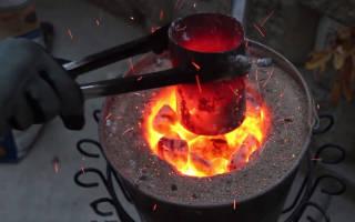 Какая температура плавления бронзы