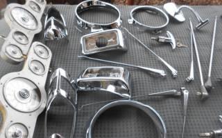 Как хромировать металл в домашних условиях