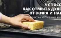 Как удалить ржавчину в духовке