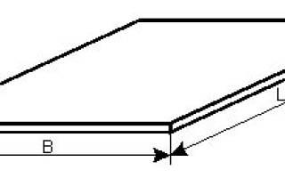 Сколько весит лист металла 3 мм
