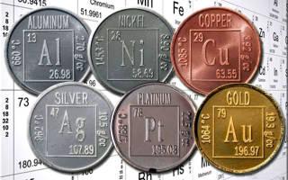 Чем отличаются черные и цветные металлы