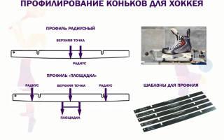 Как заточить беговые коньки
