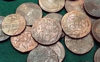 Как почистить медную монету от зелени