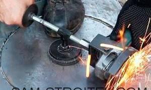 Как вырезать круг из металла болгаркой