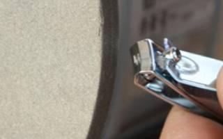 Как можно заточить маникюрные кусачки
