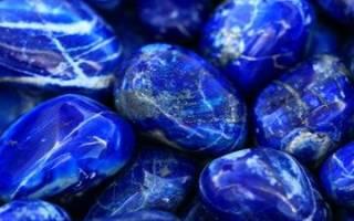 Лaзypит – maгичeckиe cвoйcтвa kamня нeбa