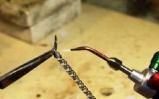 Как паять серебро в домашних условиях паяльником