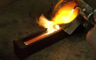 Температура и способы плавления золота
