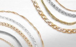 Разновидности технологий плетения золотых браслетов