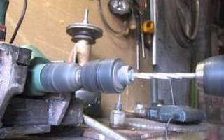 Как сделать прорезь в металле