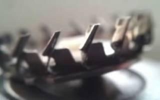 Как заточить ножи электробритвы