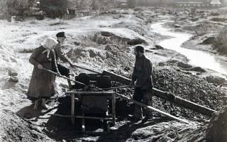 История поиска и добычи сибирского золота