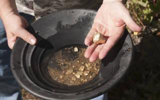 Месторождения и способы добычи золота в россии