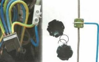 Как сделать разветвление проводов