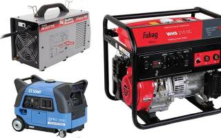 Как подобрать генератор для сварки