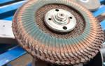 Как очистить металл от ржавчины болгаркой