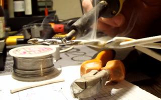 Как и чем паять алюминиевые провода