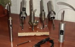 Как сделать паяльник с резистора