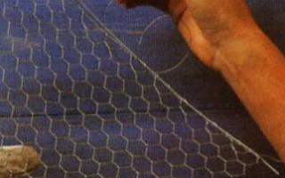 Как сделать сетку из проволоки