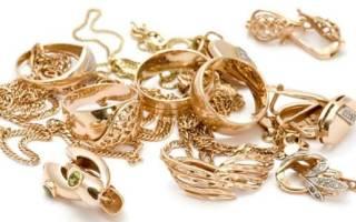 Критерии и правила выбора изделий из золота