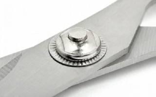 Как можно заточить ножницы в домашних условиях