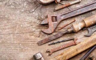 Как удалить ржавчину с ключа