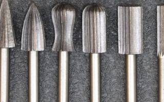 Что такое шарошка по металлу