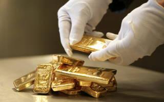 Процесс формирования и график цен на золото